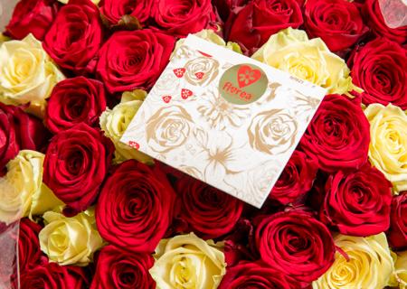 Růže se vzkazem